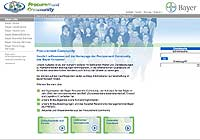 webdesign Bayer Procurement